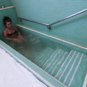 Thermal bath with ozone