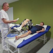 Rehabilitation on robotic devices
