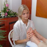 Reflex foot massage