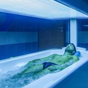 Thermal bath with hydromassage and Solarium