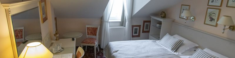 "Double Room ""Economy"" at the attic"