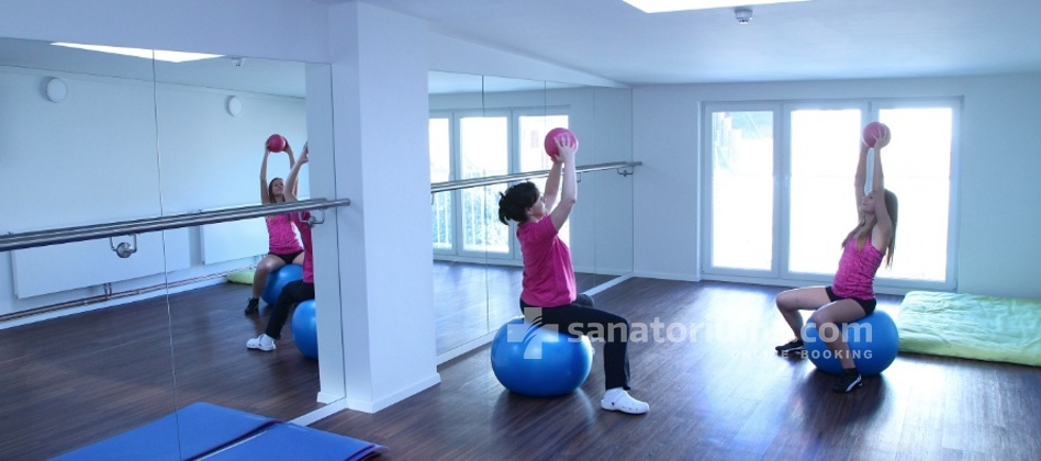 Luxury Spa-Hotel President - gymnastics in the gym