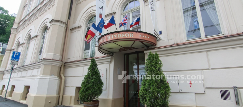 Windsor Medical Complex and SPA Hotel - главный вход