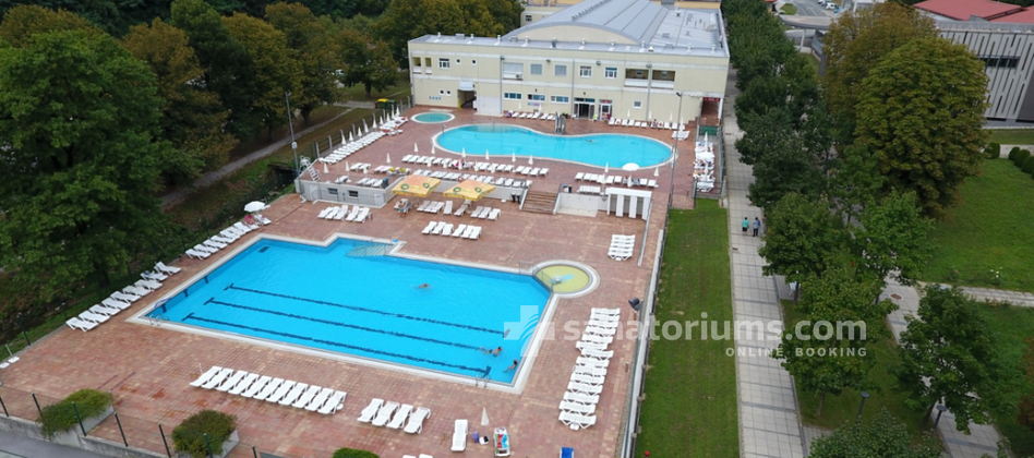 "Grand-Hotel Rogaska - the ""Rogaska Riviera"" outdoor pool complex is open from mid-April to the end of October"