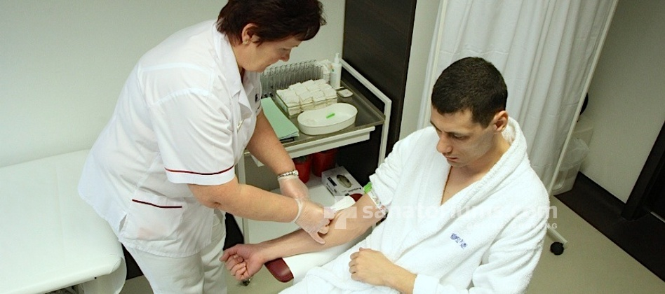Spa Hotel Balnea Palace - blood test