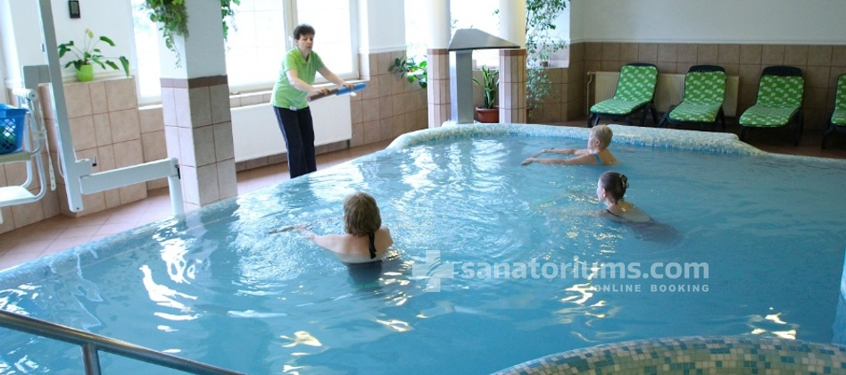 Spa Hotel Spa Heviz - gymnastic in the thermal water pool