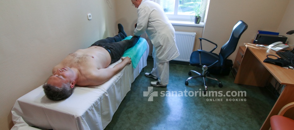 Spa Hotel Spa Heviz - appointment and examination by a doctor