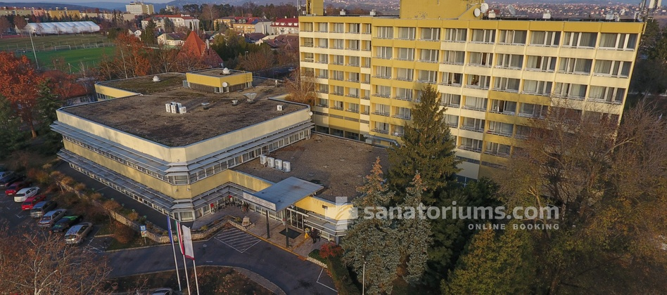 Spa Hotel Helios - building