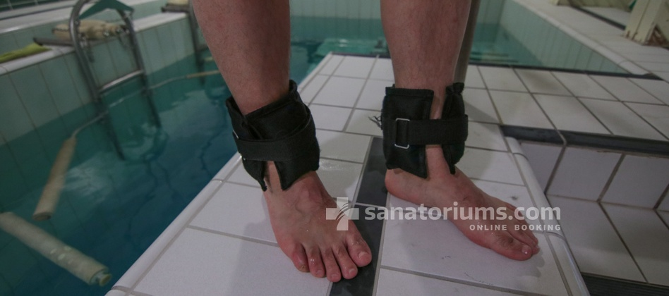 Spa Hotel Helios - underwater spine traction in thermal water