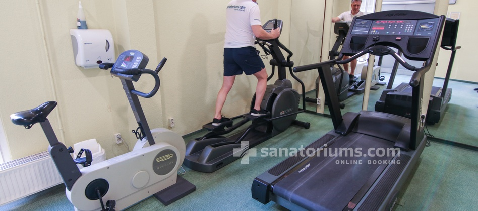 Spa Hotel Helios - fitness room