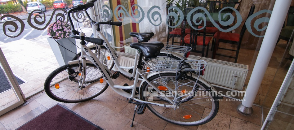 Spa Hotel Helios - bikes for rental