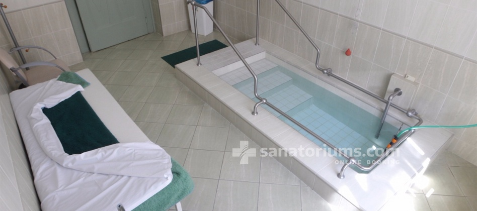 Spa Hotel Kamenne Lazne - water treatment cabinet