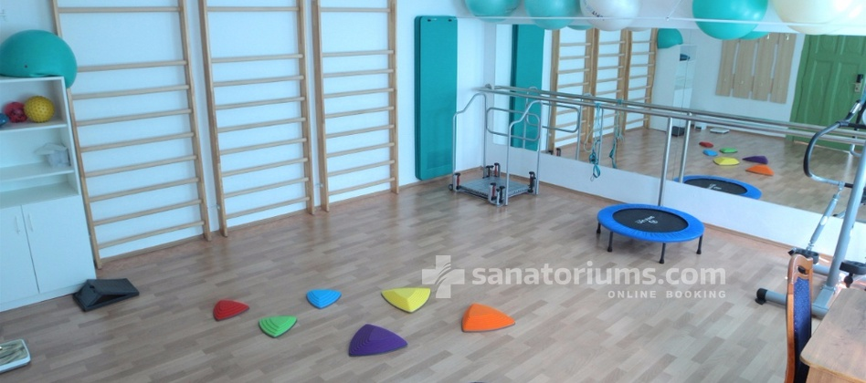 Spa Hotel Kamenne Lazne - occupational therapy with children