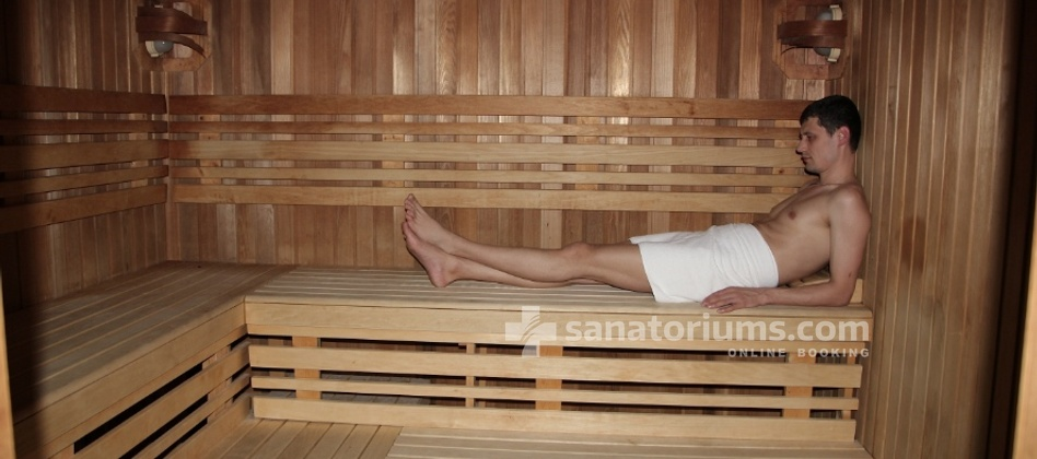 Spa Hotel Harvey - dry sauna
