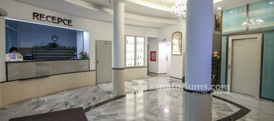 Spa Hotel Kijev - reception, hallway