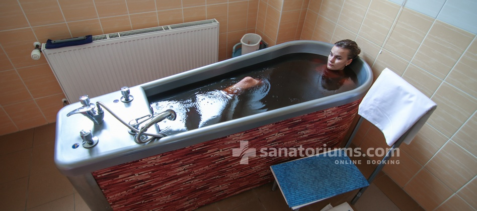Spa Hotel Kijev - mud bath based on mineral water