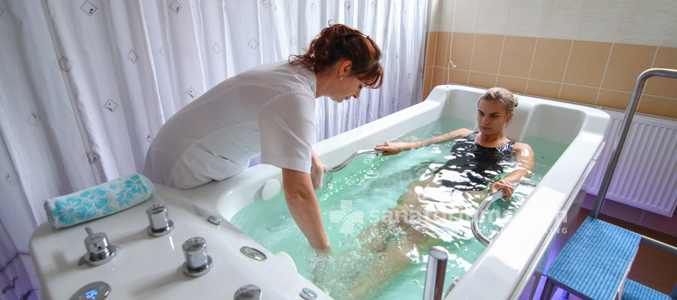 Spa Hotel Kijev - underwater massage