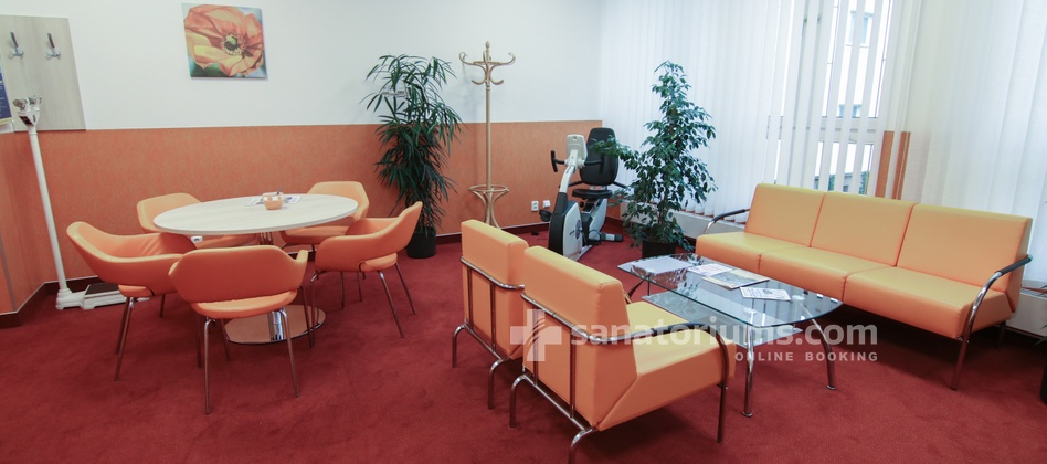 Spa Hotel Kijev - waiting room in the medical department