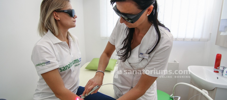 Spa Hotel Kijev - laser therapy