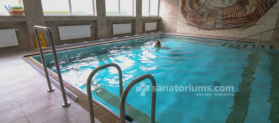 Spa Hotel Kijev - swimming pool 6.5x8 meter, used only as a procedure