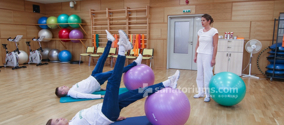 Spa Hotel Kijev - physiotherapy in the gym