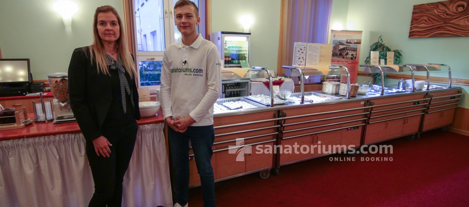 Spa Hotel Kijev - nutritionist of the spa hotel Jitka Bolegovsk