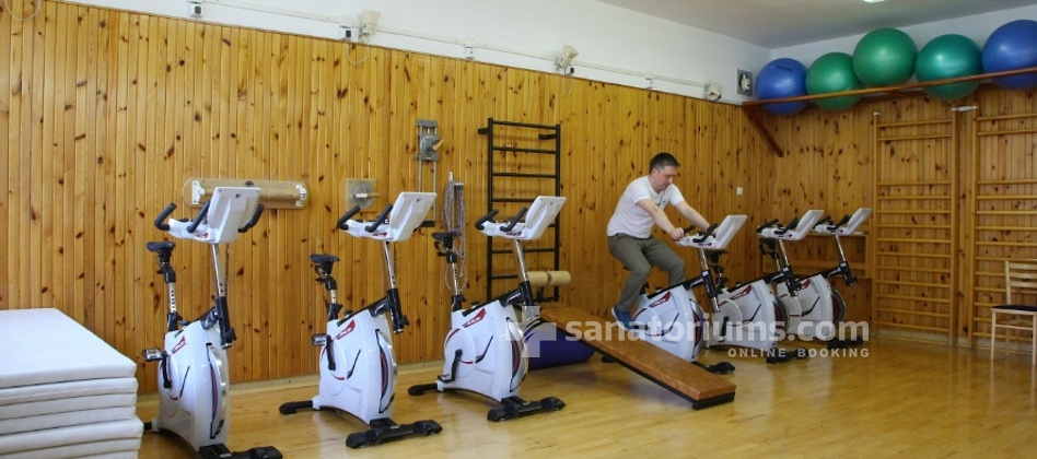 Spa Hotel Kijev - gym for extra charge
