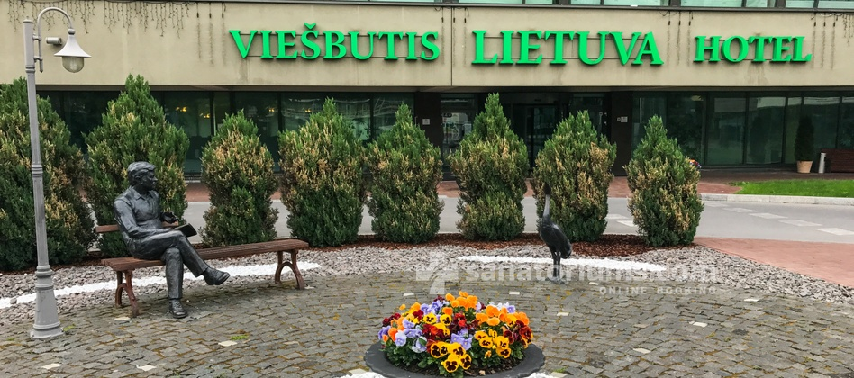 Санаторий Lietuva – комплекс Grand SPA Lietuva - здание