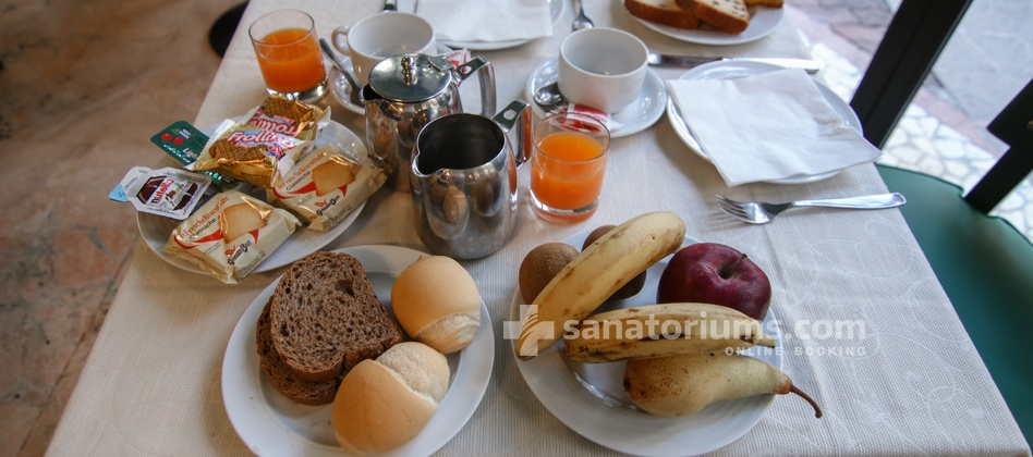 Spa Hotel Terme Milano - room for breakfast