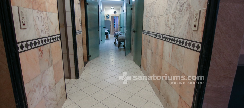 Spa Hotel Terme Milano - interior of the medical department