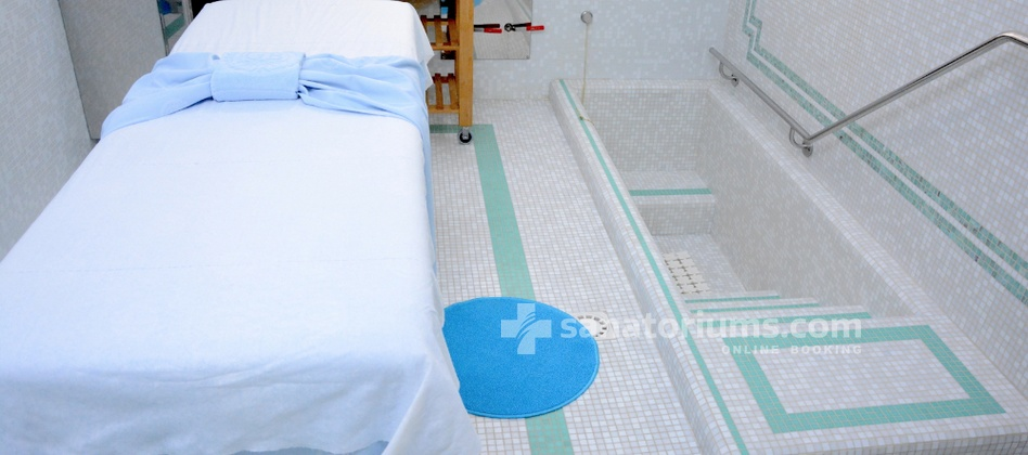 Spa Hotel Terme Due Torri - cabinet of mud therapy
