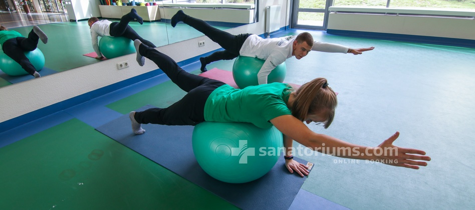 Spa Hotel Egle Economy - individual gymnastics with a physiotherapist