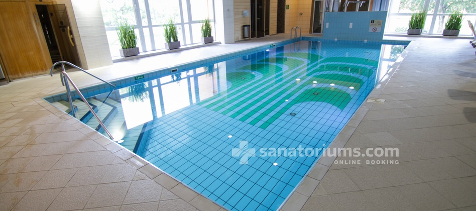 Spa Hotel Egle Economy - 25x5 m swimming pool