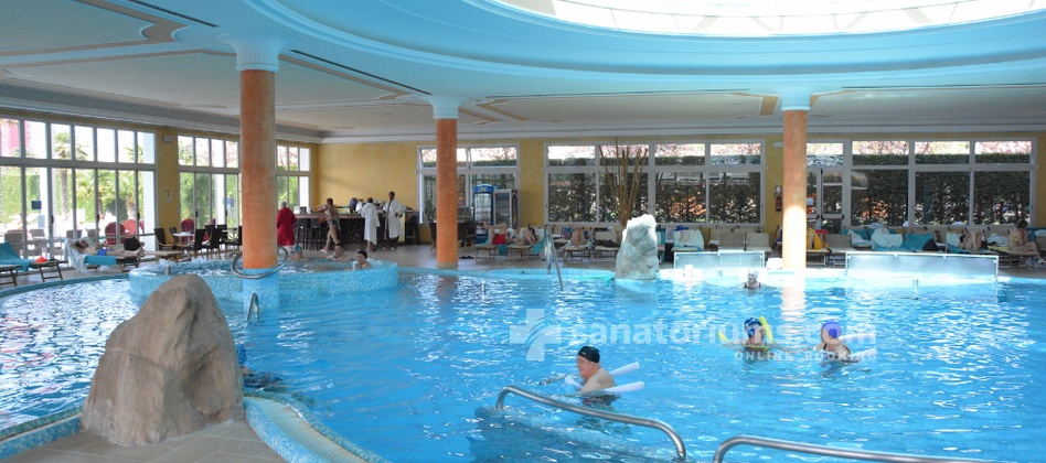 Spa Hotel Terme All'Alba - indoor thermal pool with hydromassage