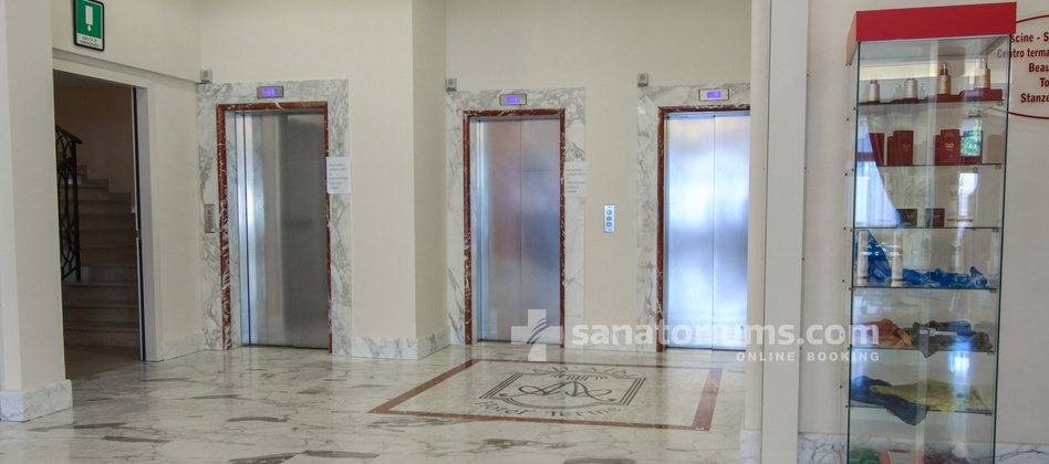 Spa Hotel Terme All'Alba - elevators