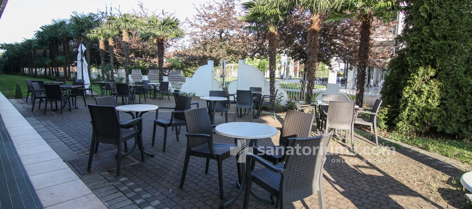 Spa Hotel Terme All'Alba - summer terrace