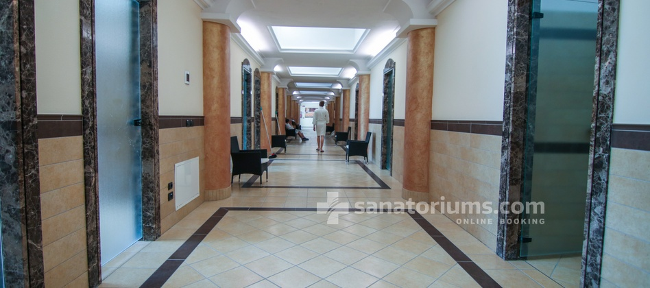 Spa Hotel Terme All'Alba - interior of the medical department