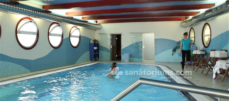 Spa-Hotel Olympia Spa and Wellness - therapeutic gymnastics in the pool