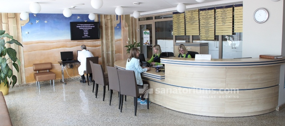 Spa Hotel Druskininkai - a complex of Grand SPA Lietuva - reception of the medical department