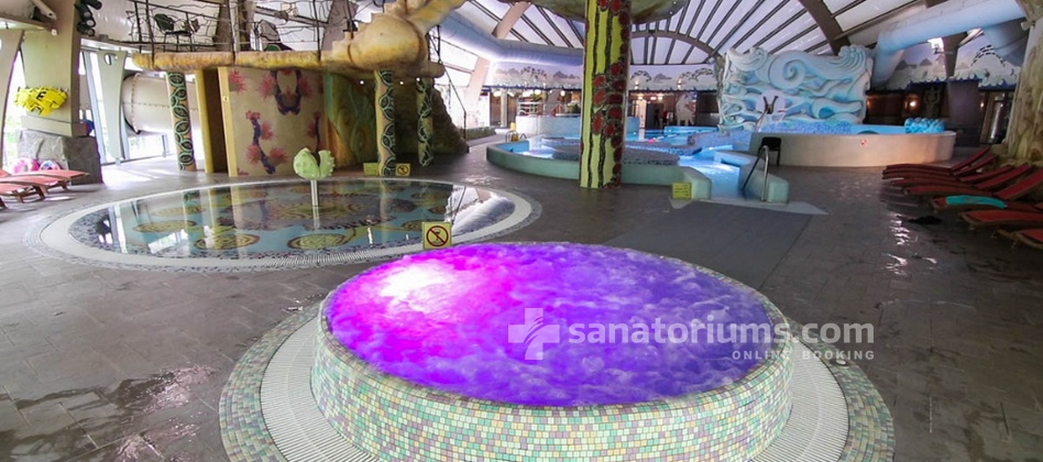 Spa Hotel Druskininkai - a complex of Grand SPA Lietuva - jacuzzi and children's pool in the water park