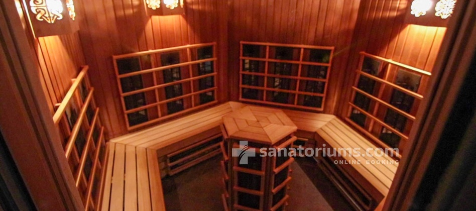 Spa Hotel Druskininkai - a complex of Grand SPA Lietuva - infrared sauna in the aqua park