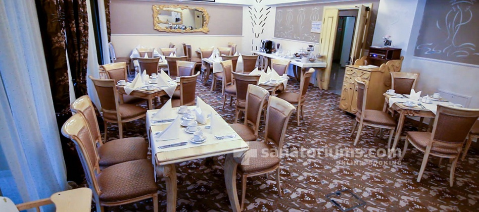 "Apart-Hotel Dzukija - complex Grand SPA Lietuva - breakfast at the spa hotel ""Dzukija"""