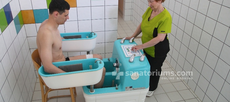 Spa Hotel Europa Royale - four-chamber galvanic bath