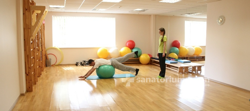 Spa Hotel Europa Royale - physiotherapy in the gym