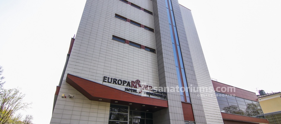 Spa Hotel Europa Royale - building