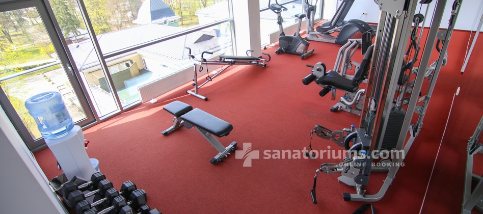 Spa Hotel Europa Royale - fitness