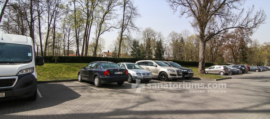 Spa Hotel Europa Royale - parking