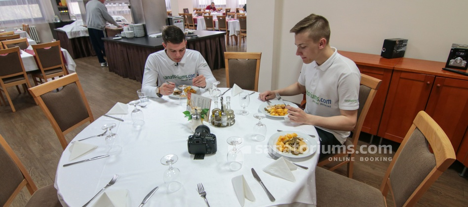 Spa Hotel Morava - restaurant is located in the building of the spa hotel Vietoris