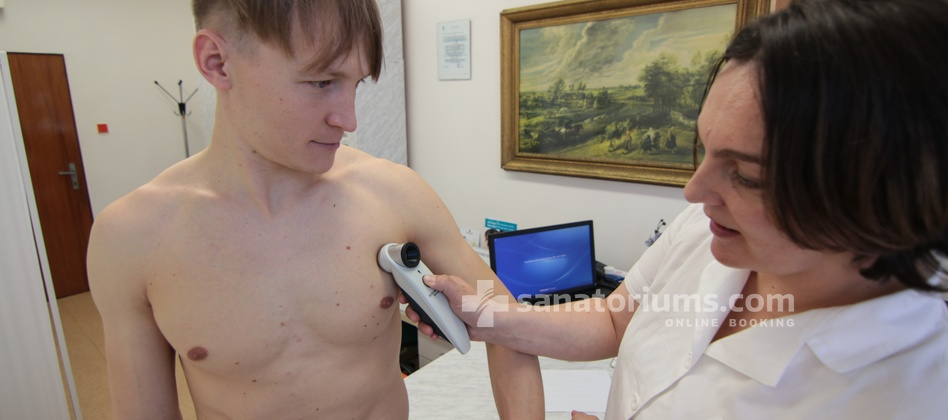 "Spa Hotel Morava - appointment and examination by the doctor at the spa hotel ""Central"" building"