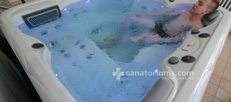Spa Hotel Morava - jacuzzi for extra charge